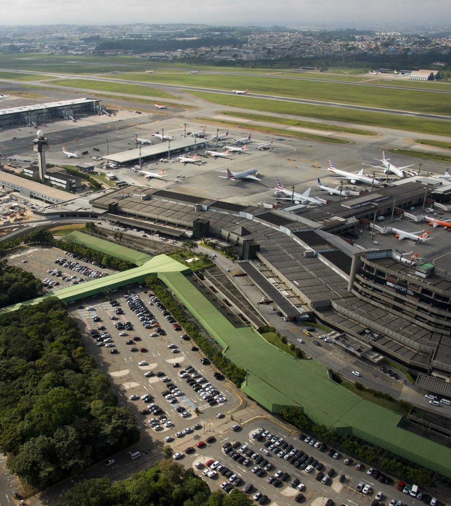 Aeroporto Internacional de São Paulo GRU - Projeto ímpar Distribuidora Impar Distribuidora, especialistas em Impermeabilização de Concreto
